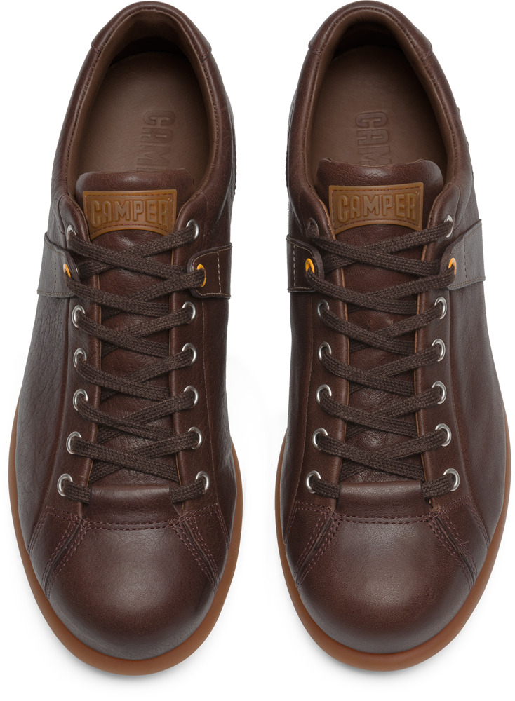 Camper Pelotas Brown Casual shoes Men 17408-086