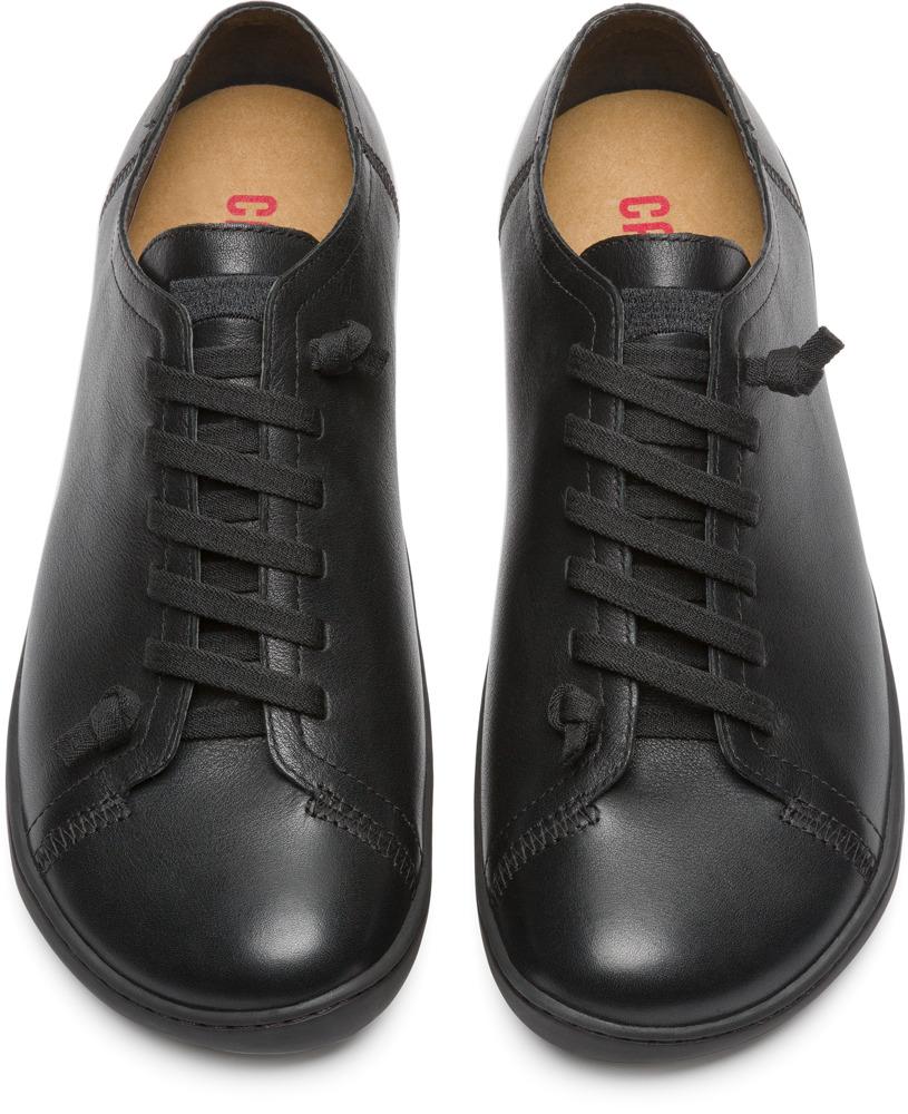 Camper Peu Negro Zapatos Casual Hombre 17665-014