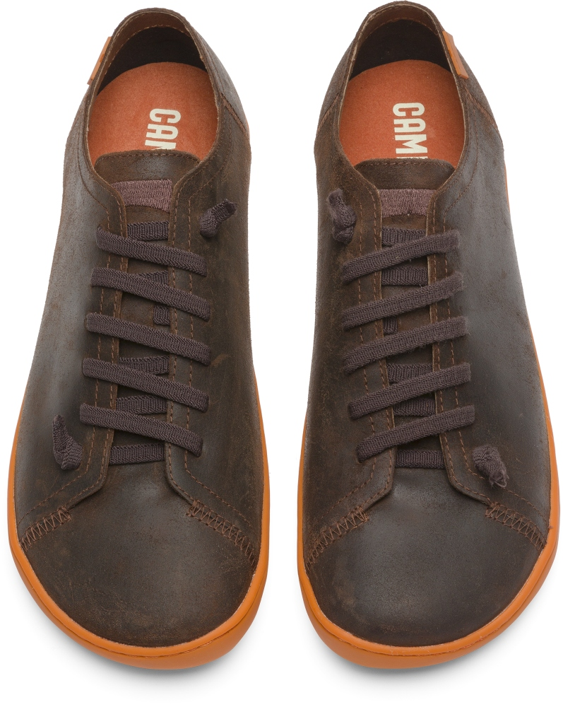 Camper Peu Marron Zapatos casual Hombre 17665-127