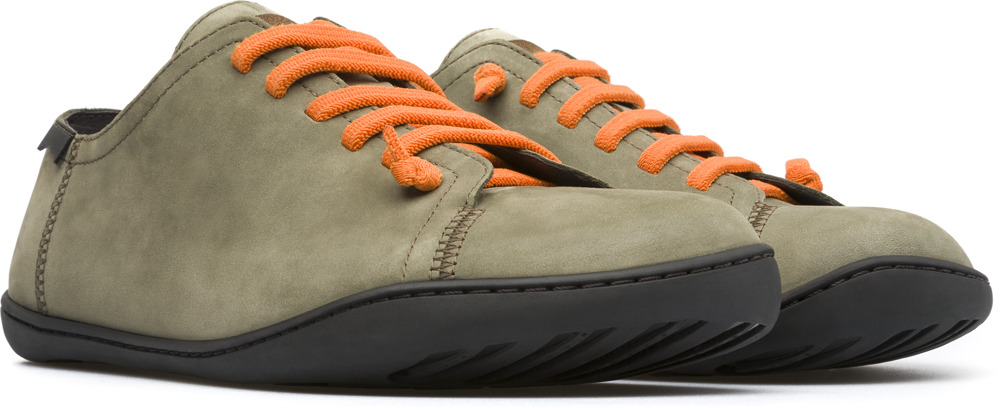 Camper Peu Green Casual Shoes Men 17665-137