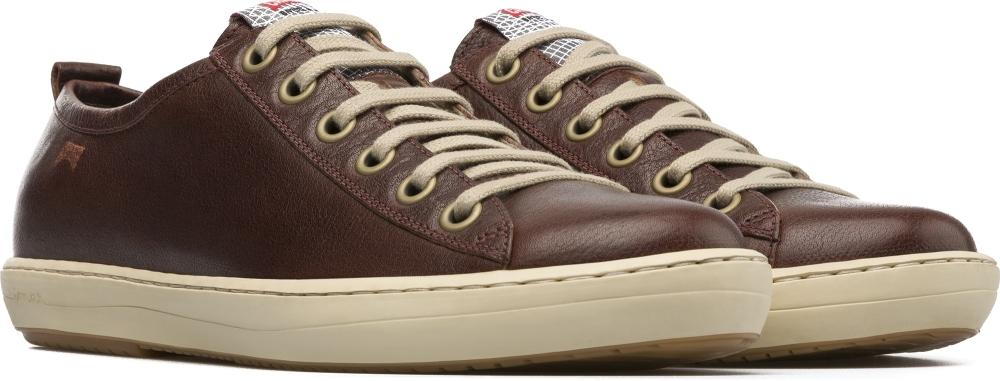 Camper Imar Brown Sneakers Men 18008-058
