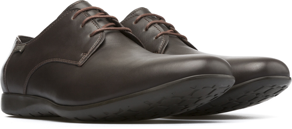 Camper Men's Brown Leather Espa... cheap clearance geniue stockist FN3X5dq