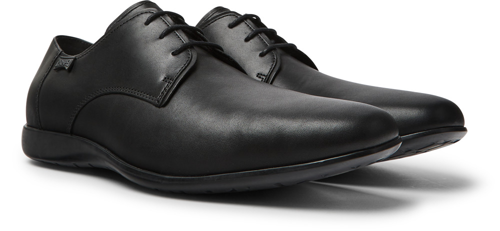 Camper Mauro Black Formal shoes Men 18222-030