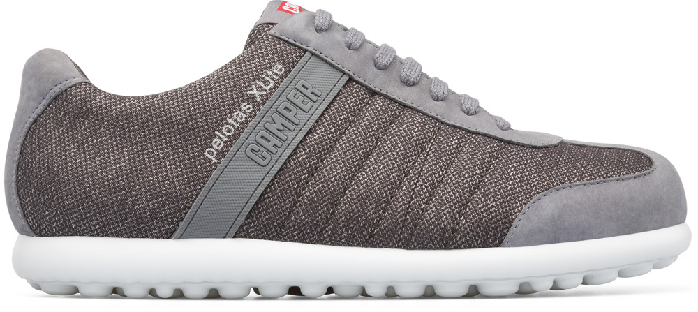 Camper Pelotas XLite Grey Casual Shoes Men 18302-081
