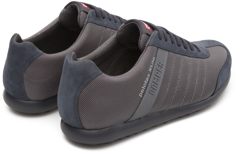 Camper Pelotas XLite Grey Casual Shoes Men 18302-084