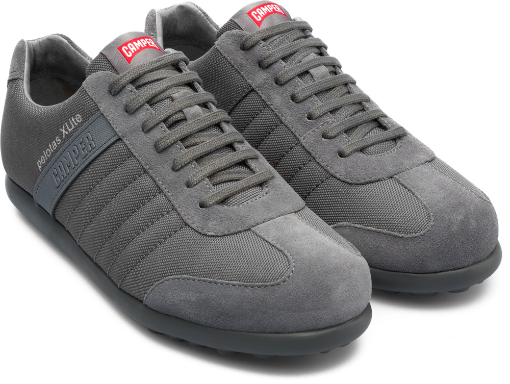Camper Pelotas XLite Grey Casual Shoes Men 18302-085
