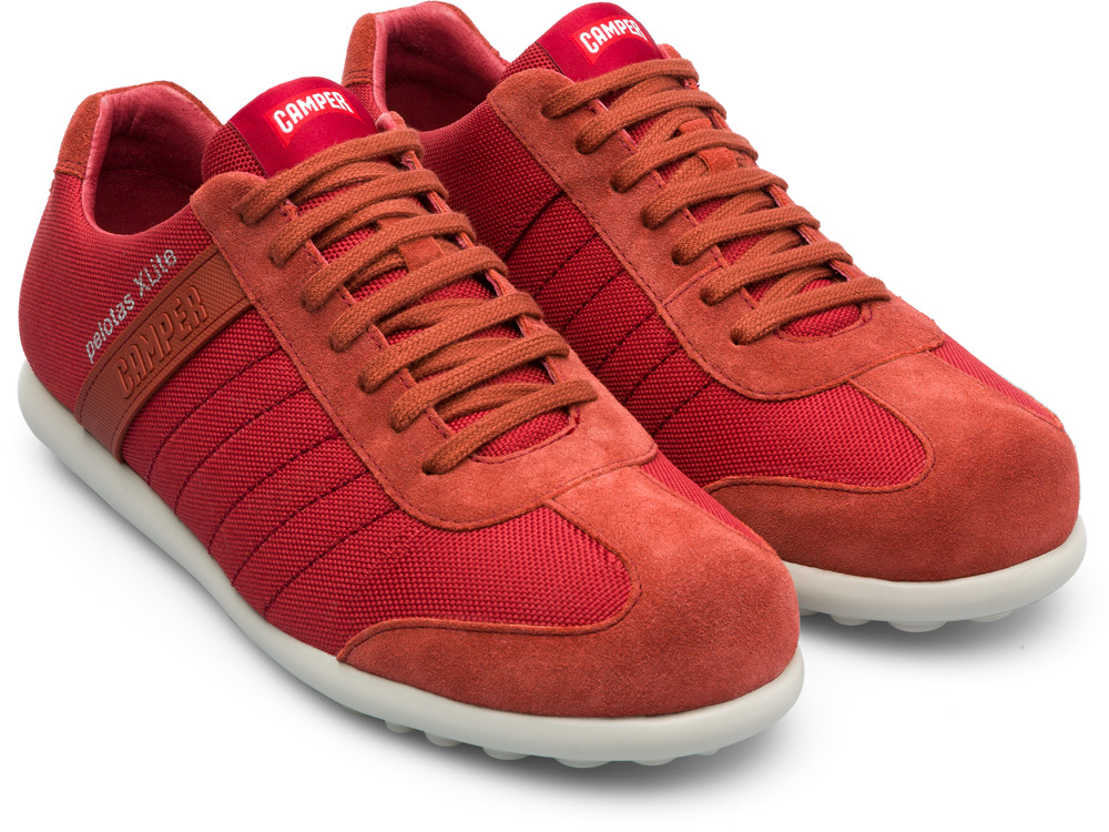 Camper Pelotas Xlite Red Casual Shoes Men 18302-092