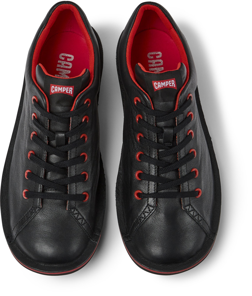 Camper Beetle Black Casual Shoes Men 18648-003