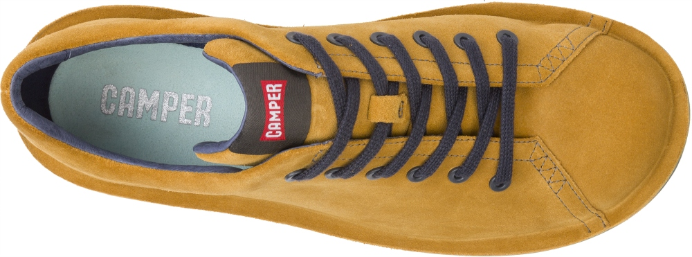 Camper Beetle Yellow Casual shoes Men 18648-057