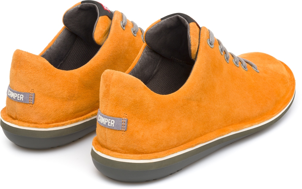 Camper Beetle Orange Casual Shoes Men 18648-059