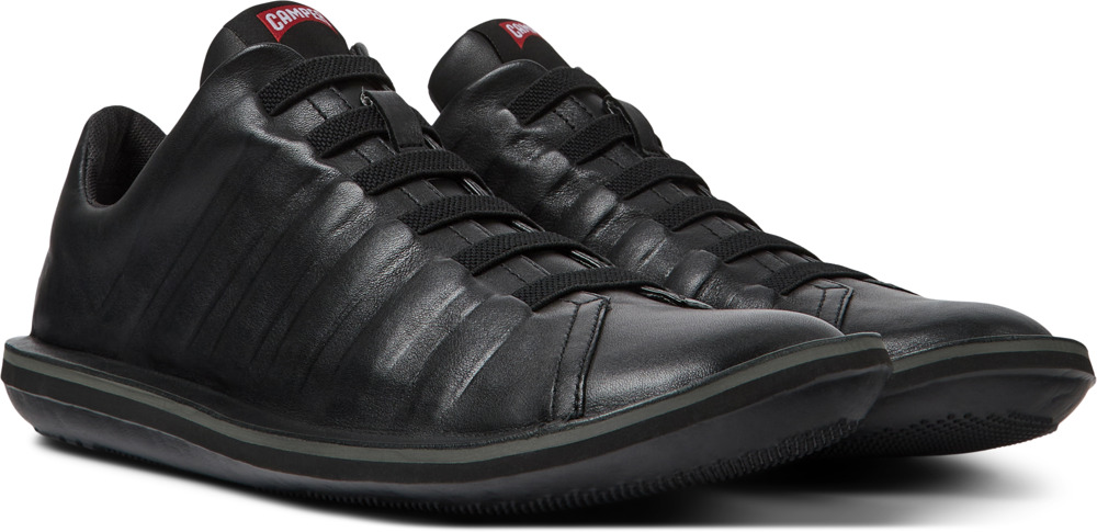 Camper Beetle Black Casual Shoes Men 18751-048