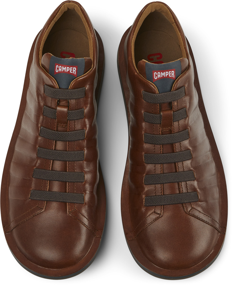 Camper Beetle Brown Casual Shoes Men 18751-049