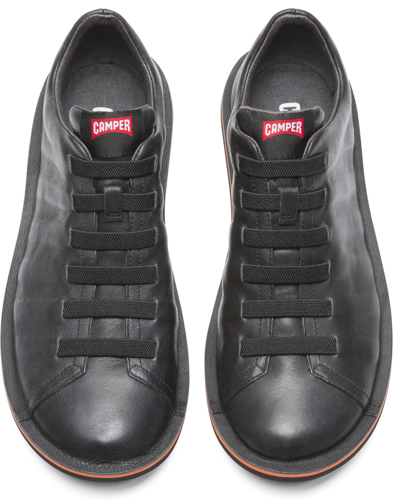 Camper Beetle Black Casual Shoes Men 18751-050
