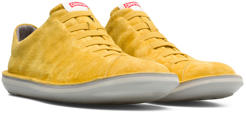 Camper Beetle Yellow Casual Shoes Men 18751-063