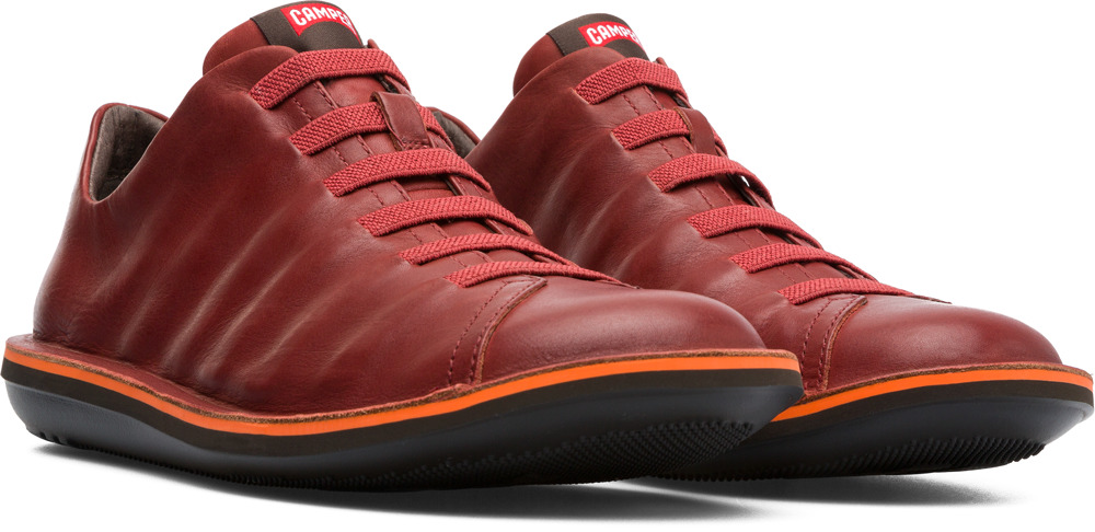 Camper Beetle Red Casual Shoes Men 18751-064