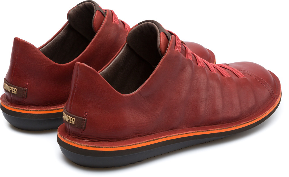 Camper Beetle Rojo Zapatos Casual Hombre 18751-064
