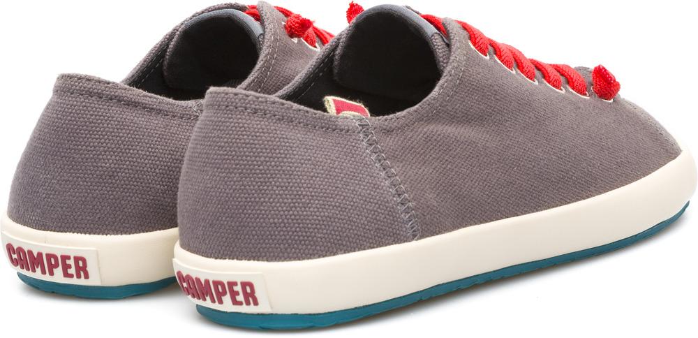 Camper Peu Rambla Grey Sneakers Men 18869-037