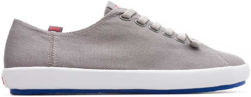 Camper Peu Rambla Grey Casual Shoes Men 18869-052