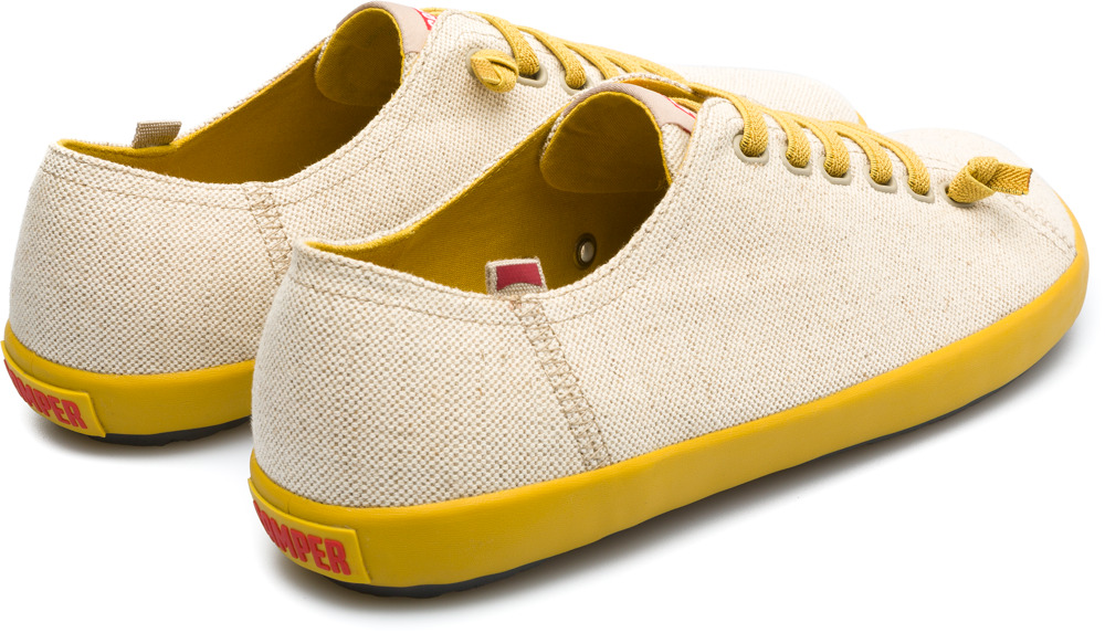 Camper Peu Rambla Beige Casual Shoes Men 18869-053