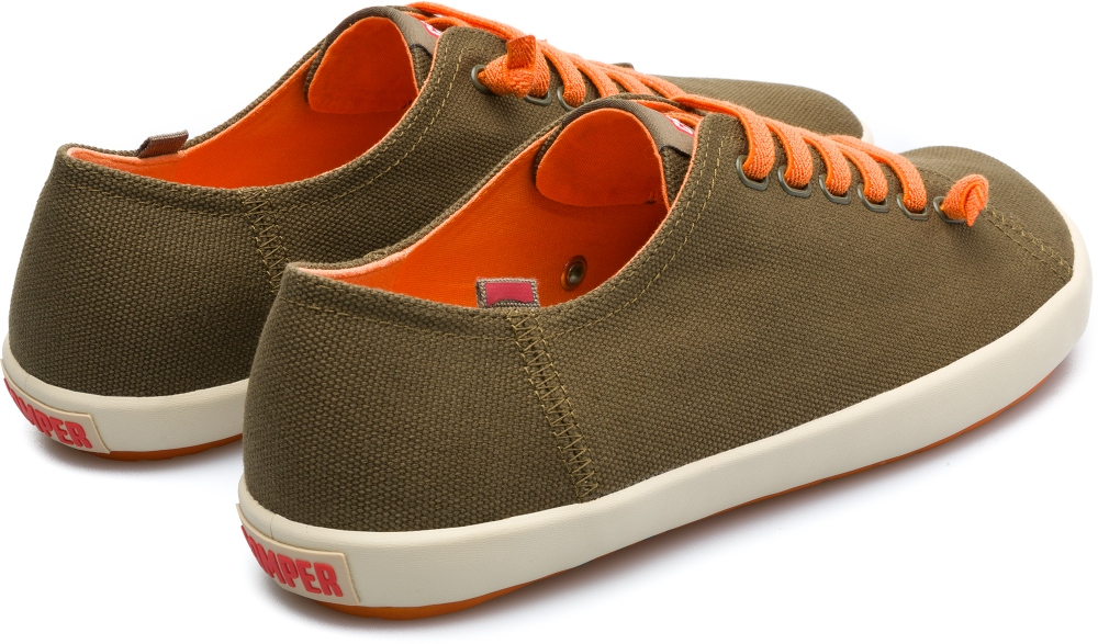 Camper Peu Rambla Green Casual Shoes Men 18869-054