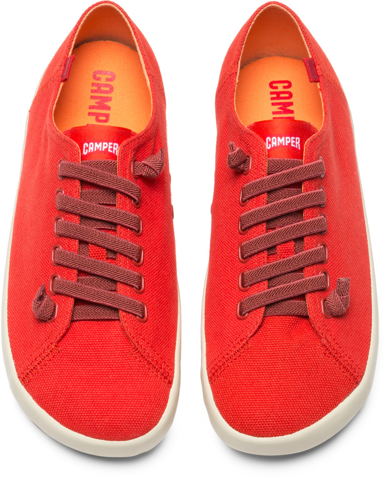 Camper Peu Rambla Red Casual Shoes Men 18869-055