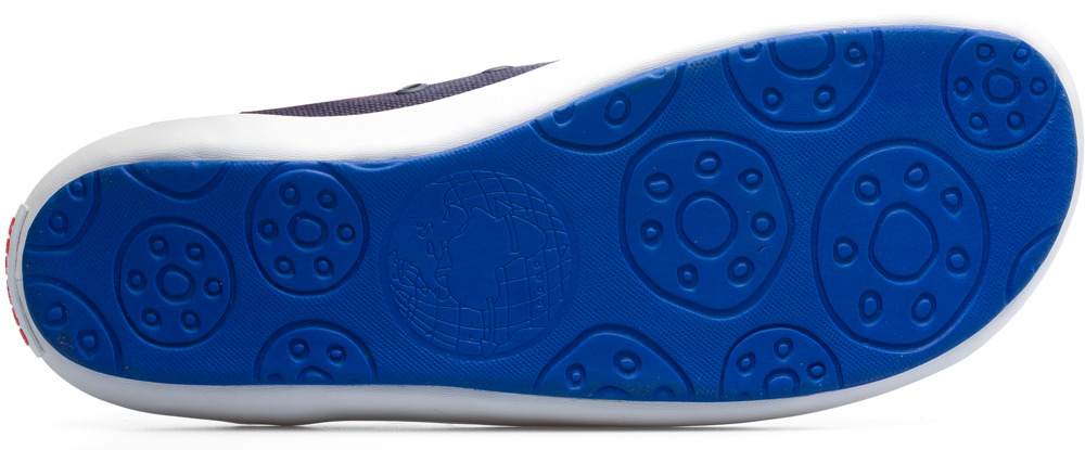 Camper Peu Rambla Blue Casual Shoes Men 18869-058