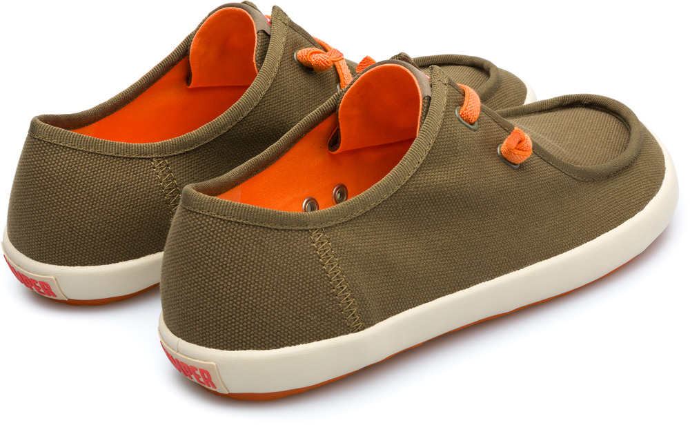Camper Peu Rambla Green Casual Shoes Men 18871-029