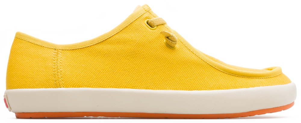 Camper Peu Rambla Yellow Casual Shoes Men 18871-030