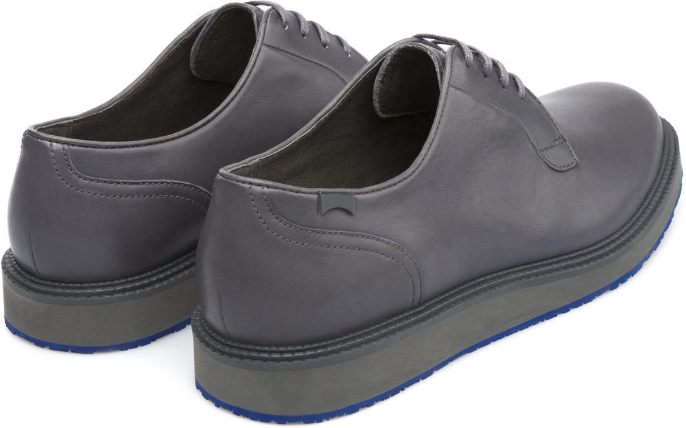 Camper Magnus Grey Formal shoes Men 18897-036