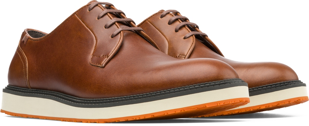 Camper Magnus Brown Formal shoes Men 18897-038