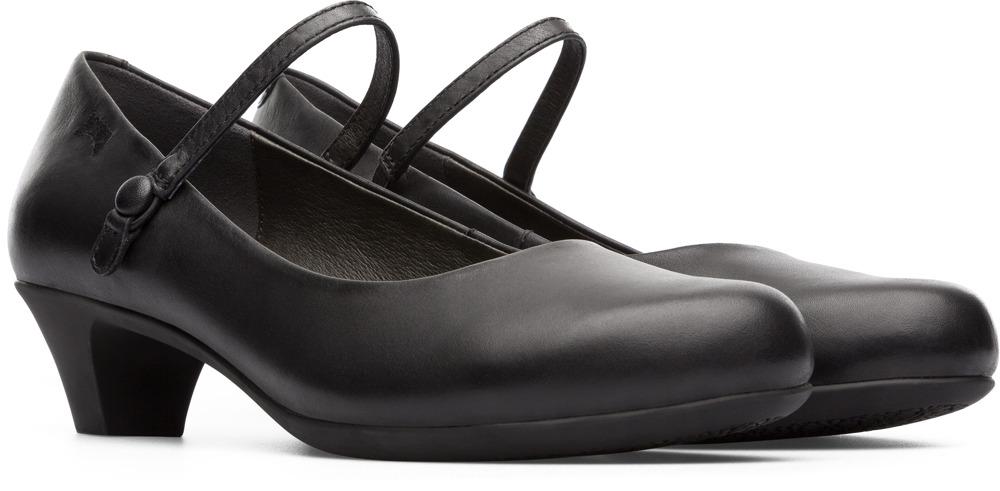 Camper Helena Black Formal Shoes Women 20202-022