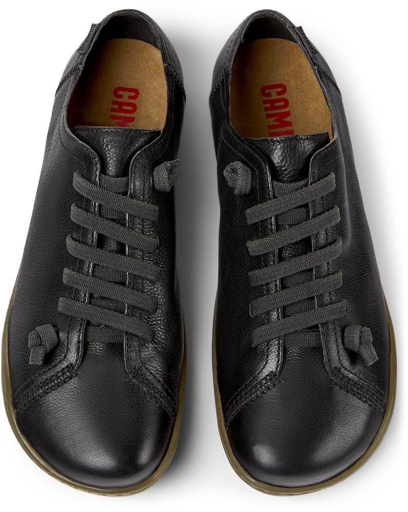 Camper Peu Negro Zapatos planos Mujer 20848-017