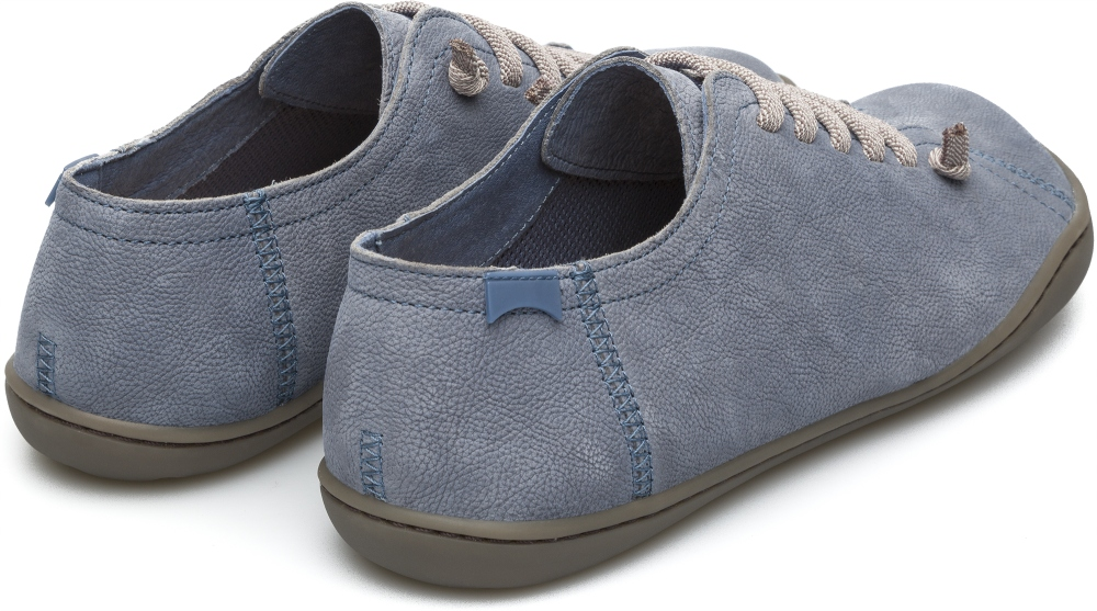 Camper Peu Blue Flat Shoes Women 20848-116