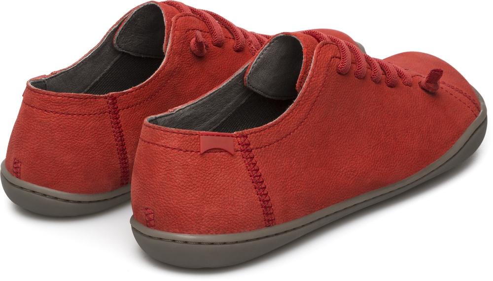 Camper Peu Rouge Chaussures plates Femme 20848-126