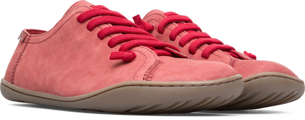 Camper Peu Red Casual Shoes Women 20848-132