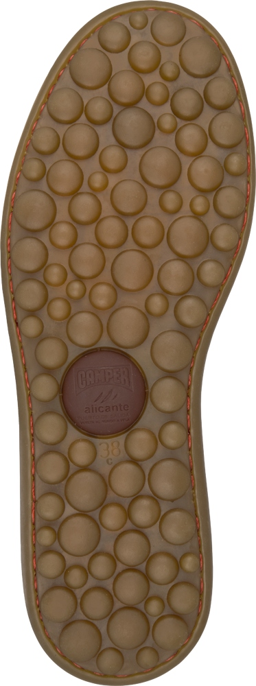 Camper Pelotas Brown Flats Women 20878-029