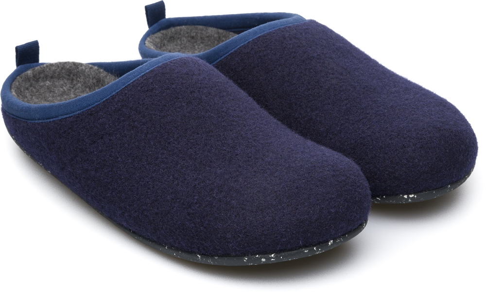 Camper Wabi Blue Slippers Women 20889-075