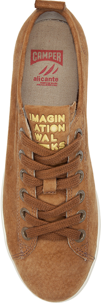 Camper JAM Brown Flats Women 21225-014
