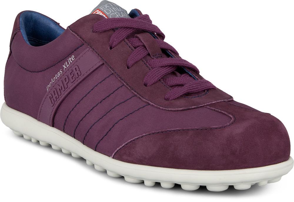 Camper Pelotas Purple Flats Women 21381-005