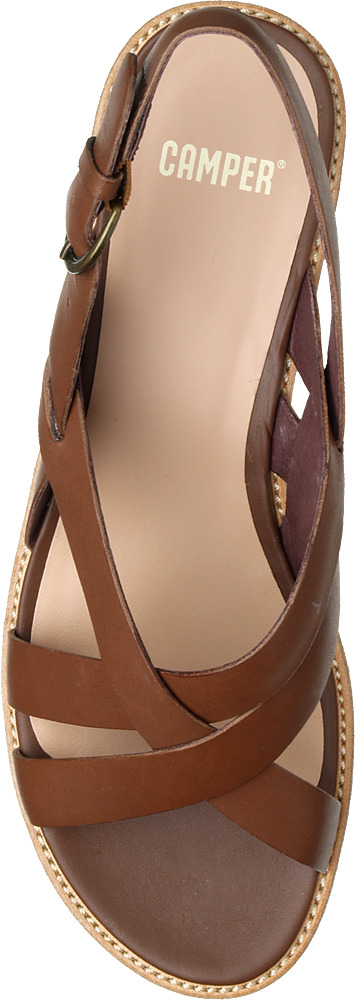 Camper DAMAS Brown Sandals Women 21387-002