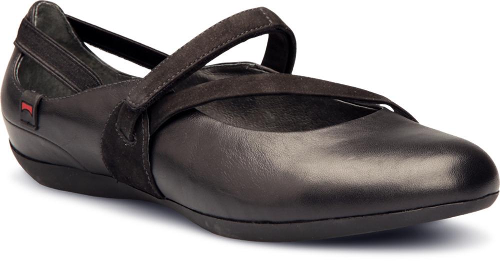 Camper MICRO Black Flats Women 21407-006