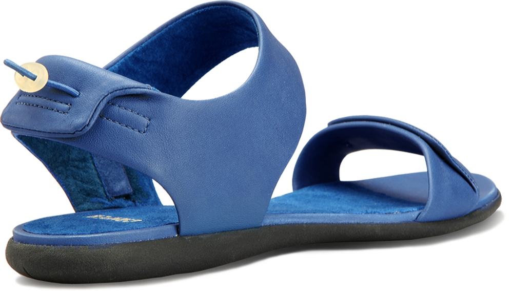 Camper SPIRAL Blue Sandals Women 21557-004