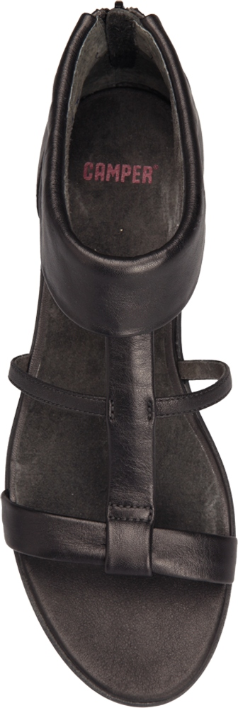 Camper SPIRAL Black Sandals Women 21558-001