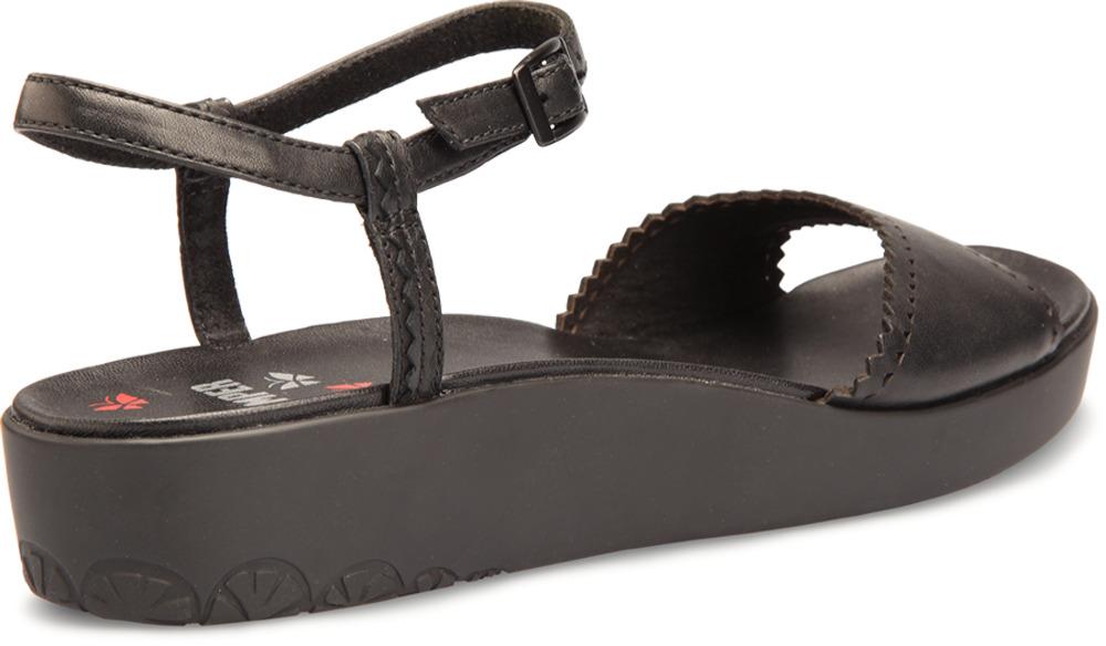 Camper MANDARINA Black Sandals Women 21563-001