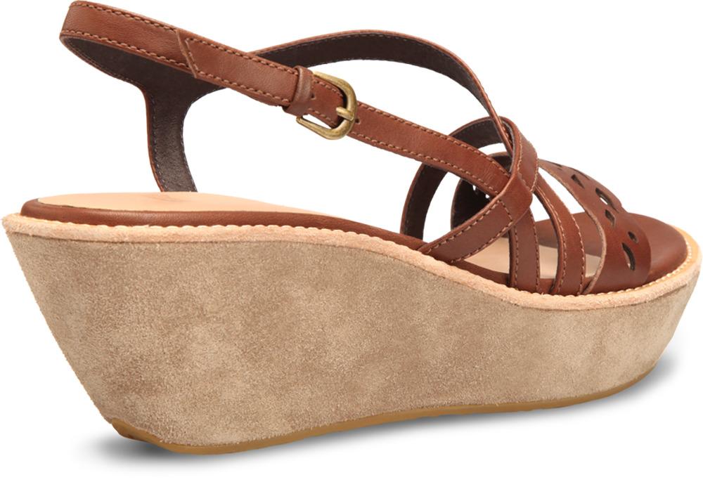 Camper DAMAS Brown Sandals Women 21575-003