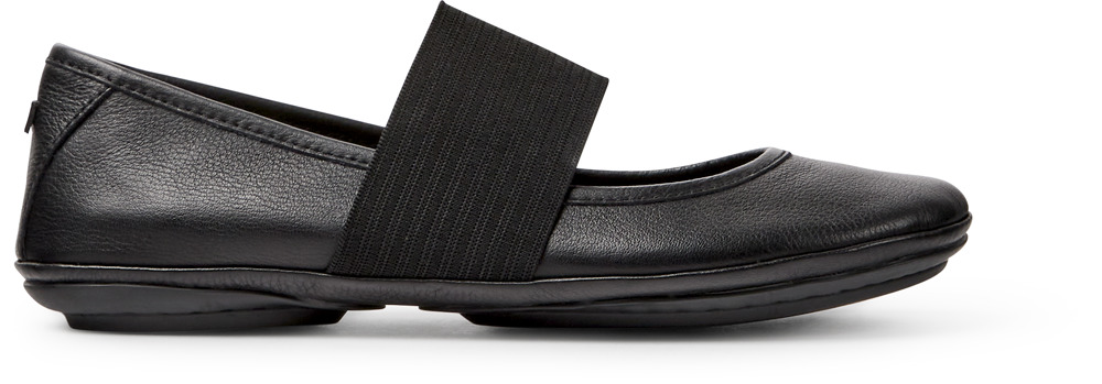 Camper Right Black Ballerina Women 21595-018