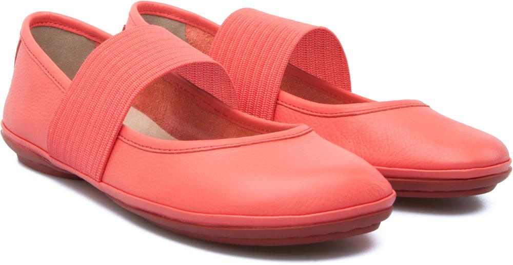 Camper Right Pink Flats Women 21595-080