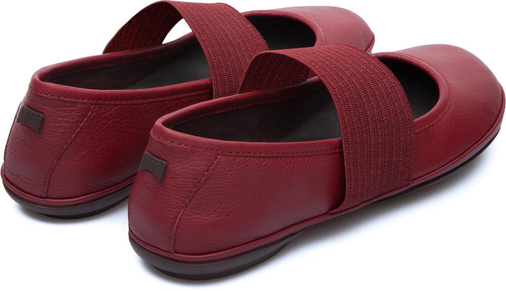Camper Right Rojo Zapatos planos Mujer 21595-084