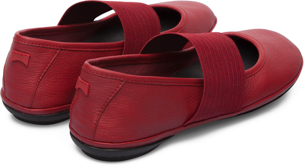 Camper Right Red Casual Shoes Women 21595-095