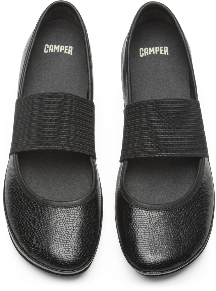 Camper Right Nero Ballerine Donna 21595-109